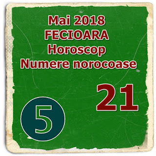 Mai 2018 FECIOARA Horoscop Numere norocoase personale