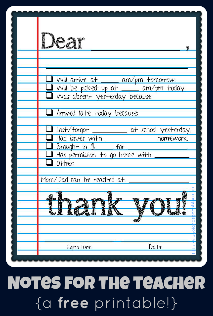 teacher notes clipart - photo #19