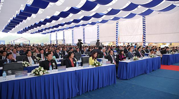 Sự kiện FLC Hạ Long diễn ra có góp mặt nhiều cơ quan báo chí, Giới đầu tư trong và ngoài nước...
