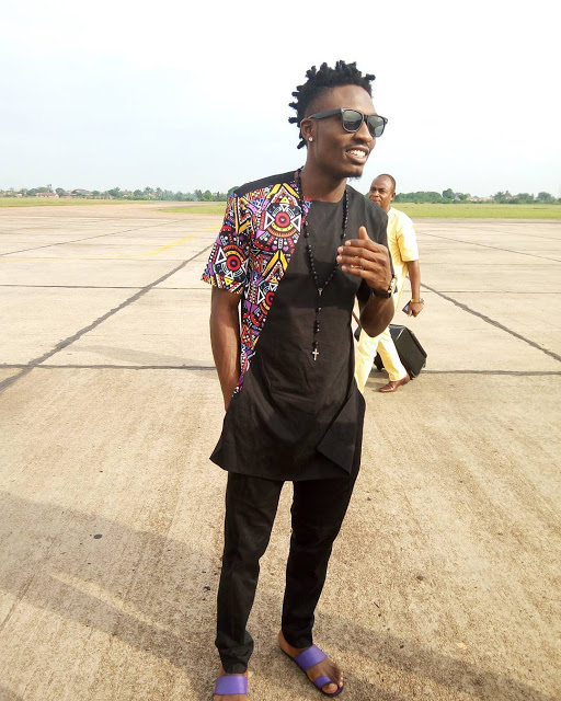 #BBNaija Winner, Efe Ejeba Arrives Warri For Homecoming; See How He Was Received (Photos)