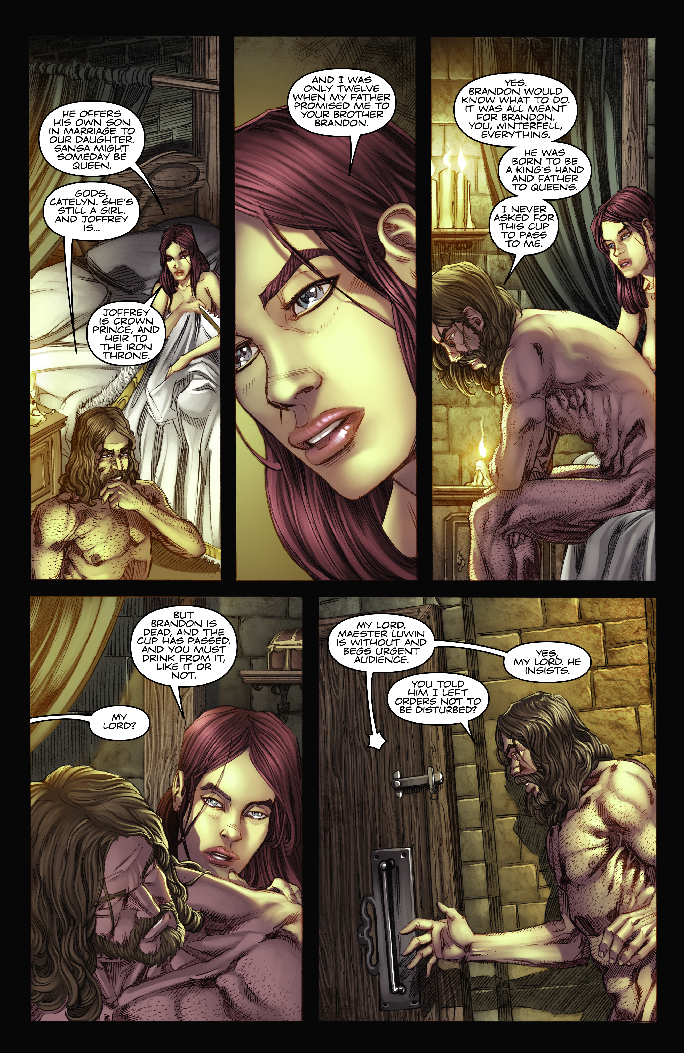 Read online A Game Of Thrones comic -  Issue #2 - 24