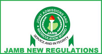JAMB 2018/19 New Regularization Procedures/Guidelines [No Photos/Screenshots]