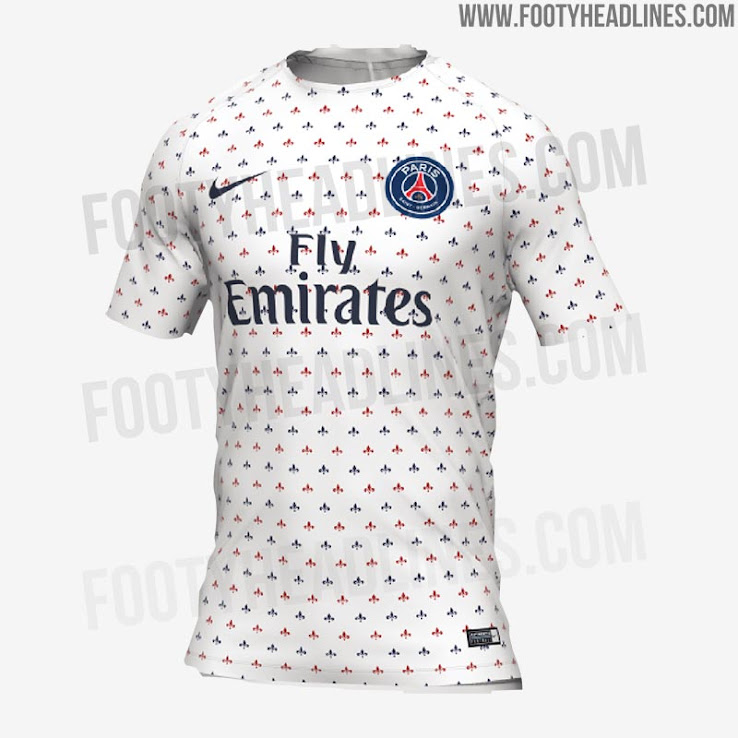 free shipping 56ed7 34a4a Stunning Nike PSG 2019 Pre-Match Shirt Leaked - Footy Headlines