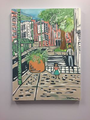 Meghean Warner | South Main | 30x40 | $350