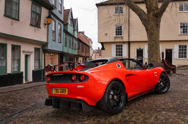 The Cup 250 is the fastest street-legal Elise that Lotus has ever built