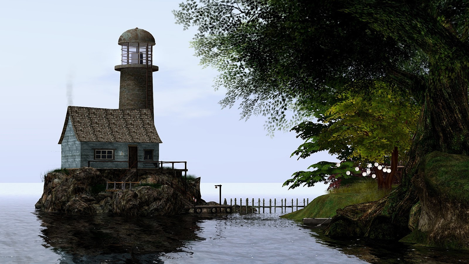 Echt virtuell simtipp rustic retreat for Rustic retreat