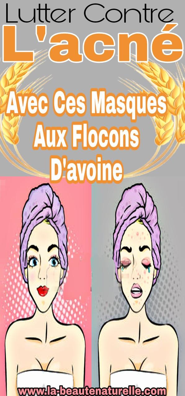 Lutter contre l'acné avec ces masques aux flocons d'avoine