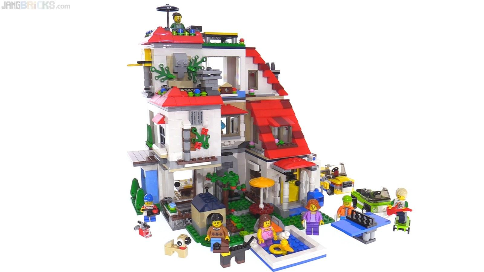 lego creator modular house super build 31067 31068 31069 combination. Black Bedroom Furniture Sets. Home Design Ideas