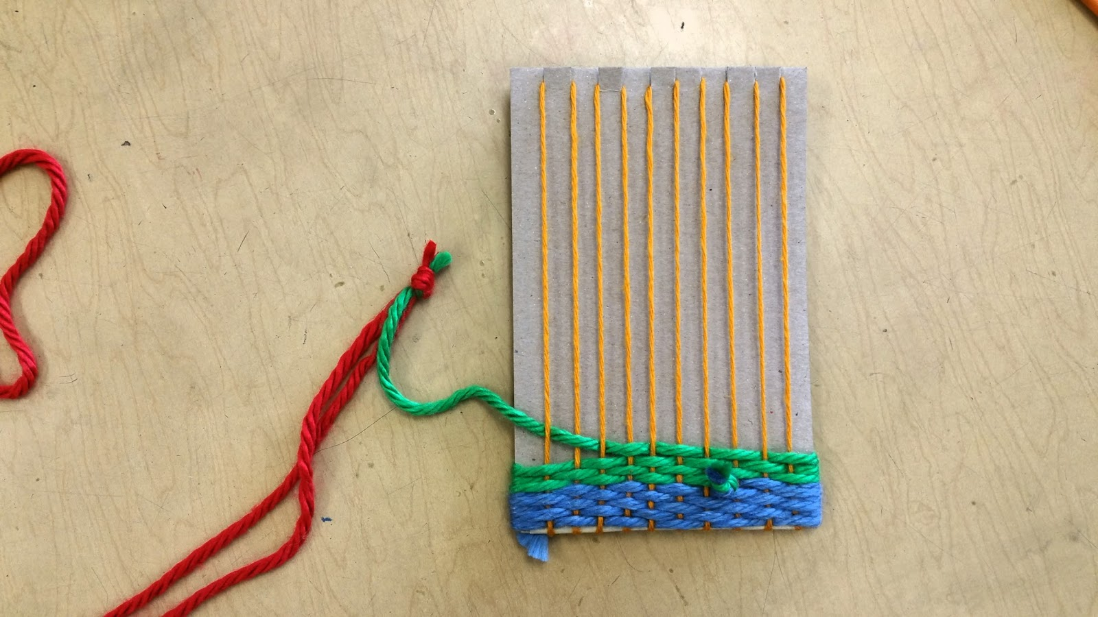 how to take weaving off loom
