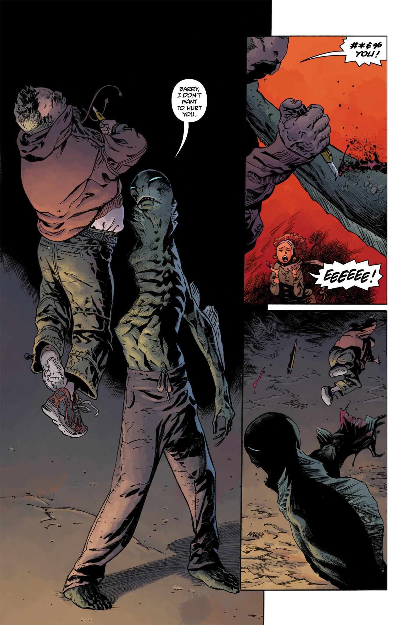 Read online Abe Sapien comic -  Issue #4 - 21