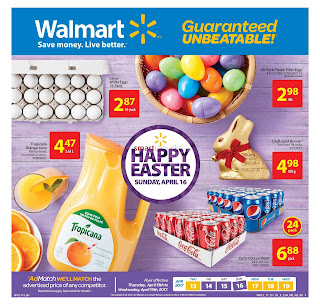 Walmart Grocery Flyer April 13 to 19, 2017