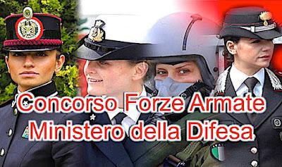 Concorso Ministero della Difesa per allievi marescialli delle Forze Armate (adessolavoro.blogspot.com)
