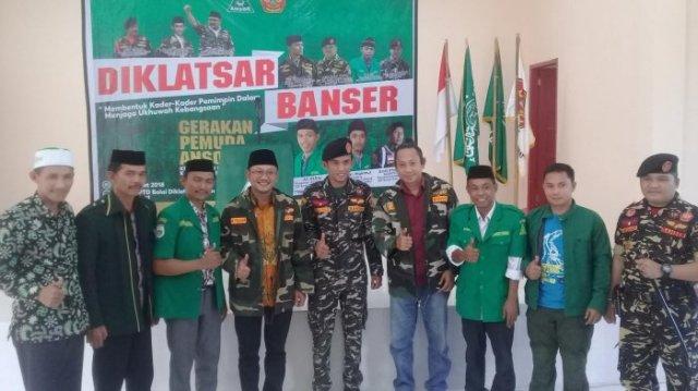 Patut Dicontoh, Wakil Bupati Mamuju Ikut Diklatsar Banser