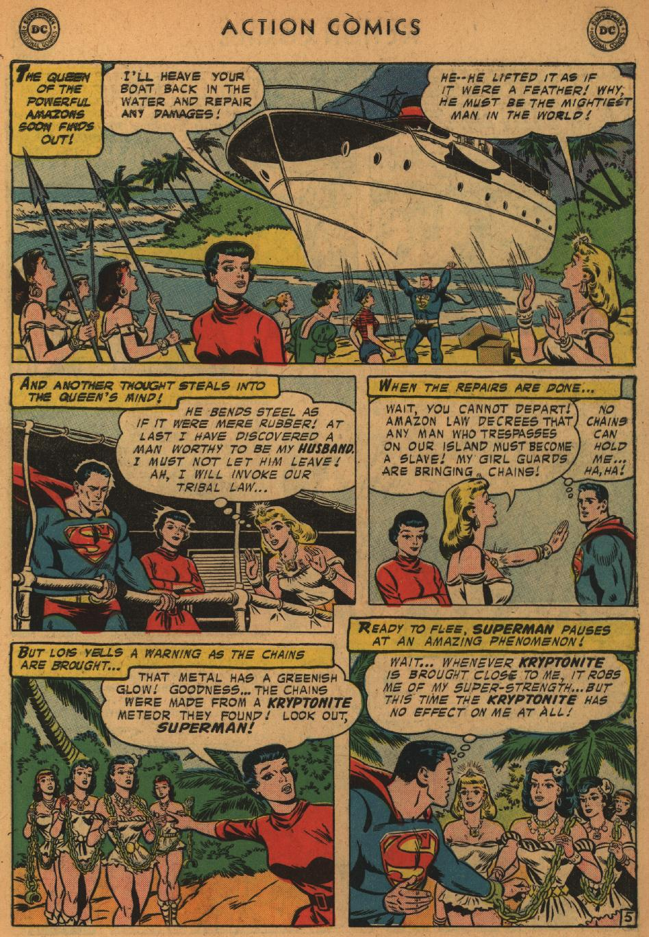 Read online Action Comics (1938) comic -  Issue #235 - 7