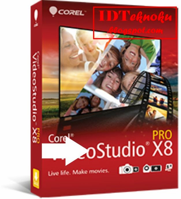 Corel Video Studio Pro X8