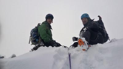 Winter climbing course, Ben Nevis.