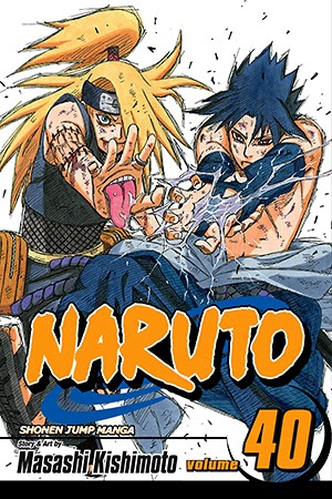 Naruto Tomo 40