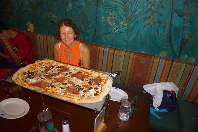 via napoli half metre pizza