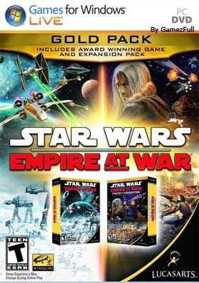 Star Wars Empire at War Gold Pack [Full] Español [MEGA]
