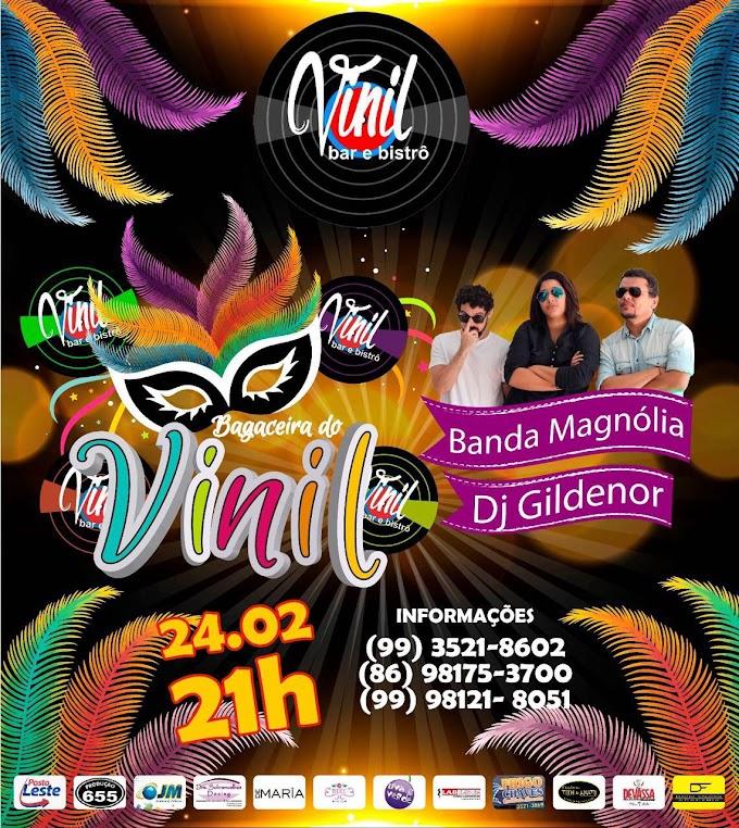 EVENTOS: Carnaval em grande estilo é nesta sexta (24) no Vinil Bar e Bistrô em Caxias