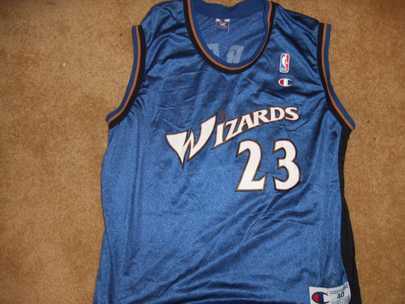 official photos 2805a b057f Vintage10916 Store: Vintage Michael Jordan Wizards Jersey