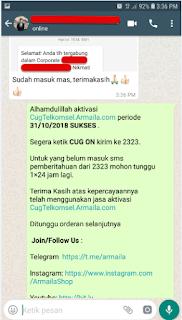 Testimoni CUG Telkomsel Kartu Pasangan Kartu Komunitas Kartu Soulmate Kartu Couple 31 Oktober 2018 7
