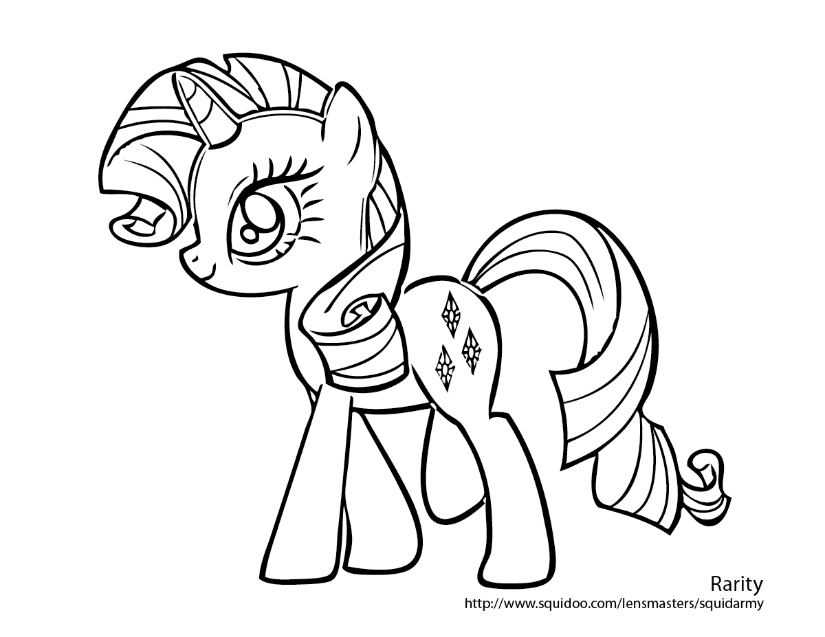 My Little Pony Printable Coloring Pages Webfaceconsult