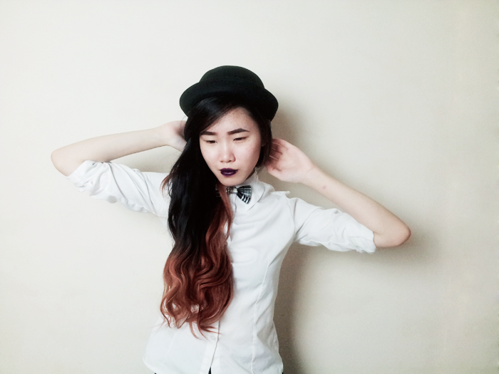 Brunei Blogger May Cho | three 3 hairstyles hair styles hats beanie bowler bornpretty born pretty store