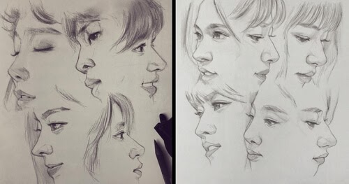 00-Dika-Toolkit-Multiple-Portraits-Drawing-Studies-www-designstack-co