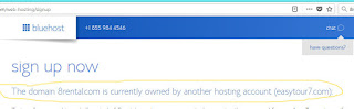 8rental.com scam: a proof that eastytour7.com and 8rental.com were registered by the same fraudsters