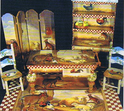 dollhouse miniature kitchen