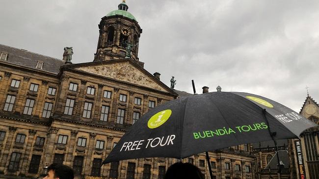 Free Tour Buendia en Plaza Dam de Amsterdam