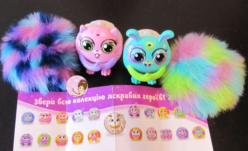 Hilarious Tiny Furries Fluffy Friends Toys with Over 60