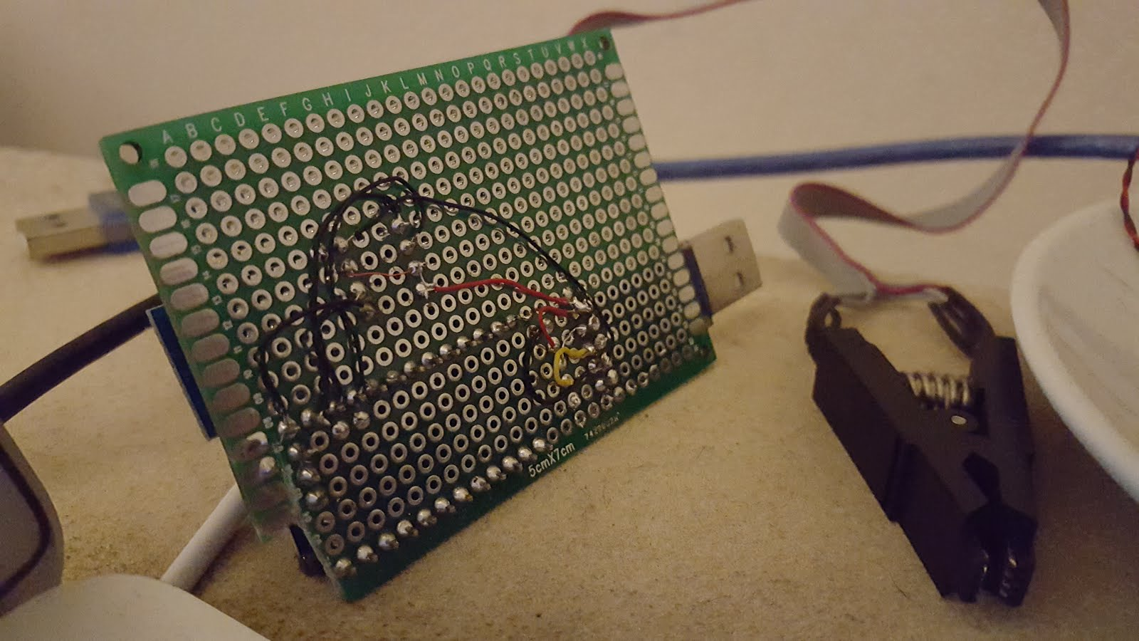 Koepi's Blog: SPI Flash programmer with Arduino Pro Mini