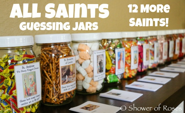 Catholic Cuisine 12 More Saint Themed Guessing Jars