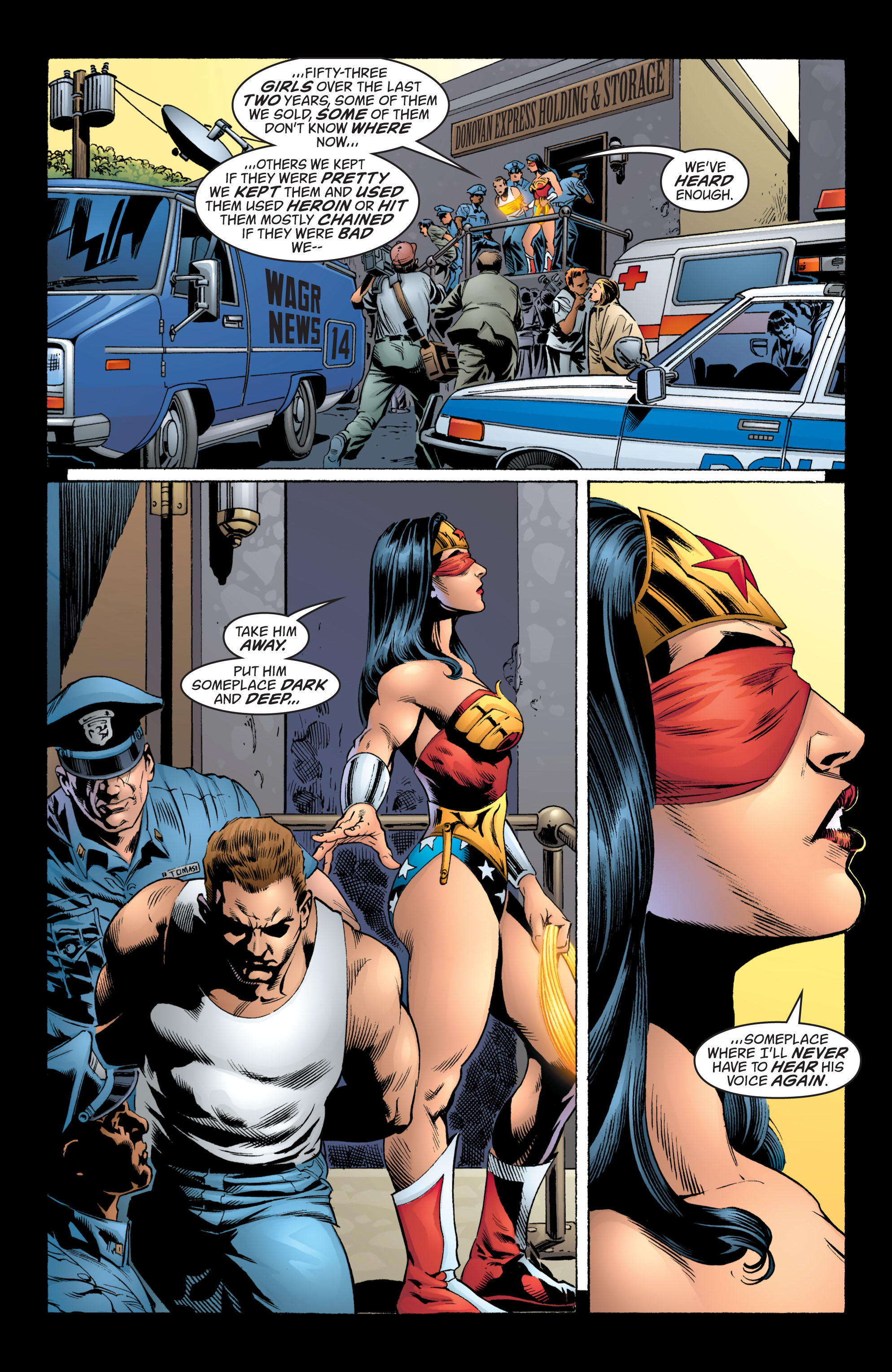 Read online Wonder Woman (1987) comic -  Issue #215 - 5