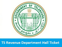TS Revenue Department Hall Ticket