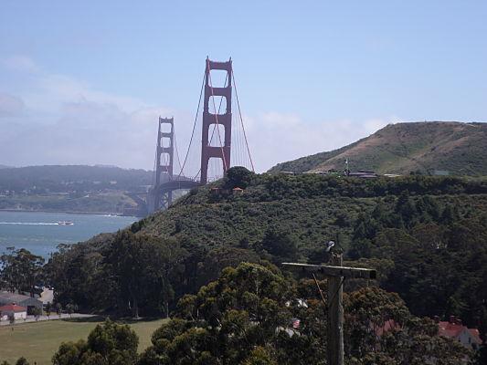 passeio de bicicleta pela Golden Gate san francisco
