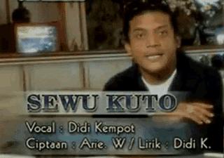 Lirik Lagu Sewu Kutho - Didi Kempot