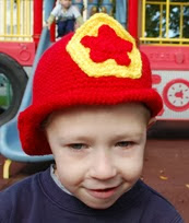 http://www.innerchildcrochet.com/patterns/fireman_hat.php