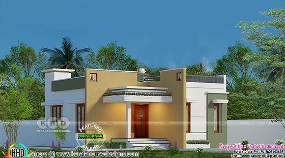 Low cost Kerala home design single floor | Kerala home ...