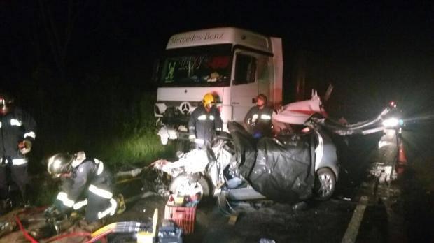 Acidente na BR 153 mata seis pessoas da mesma família