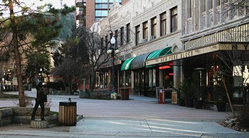 Downtown Helena Montana