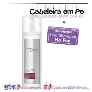 Spray Texurizador Plant - Natura (No Poo)