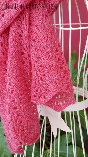 Cachecol em tricot Ofélia