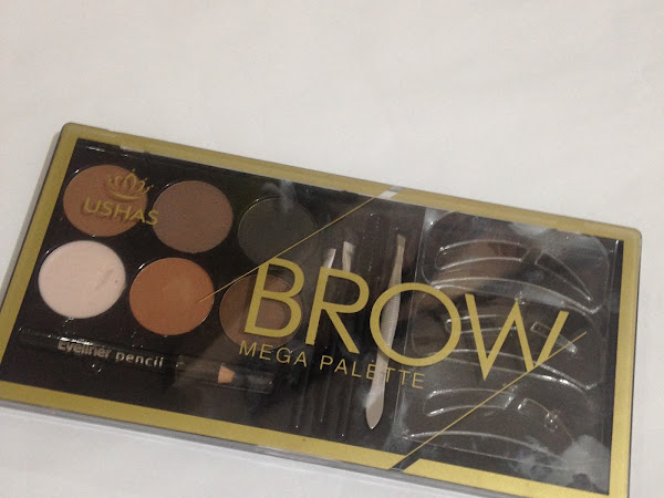 SOMETHING NEW | USHAS Brow Palette by Watsons