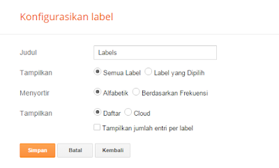 Cara Membuat Label di Blog Dengan Mudah