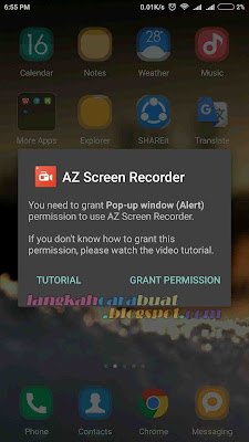 Aplikasi Perekam  Cara Merekam Layar Android Jelly Bean KitKat Tanpa Root 11