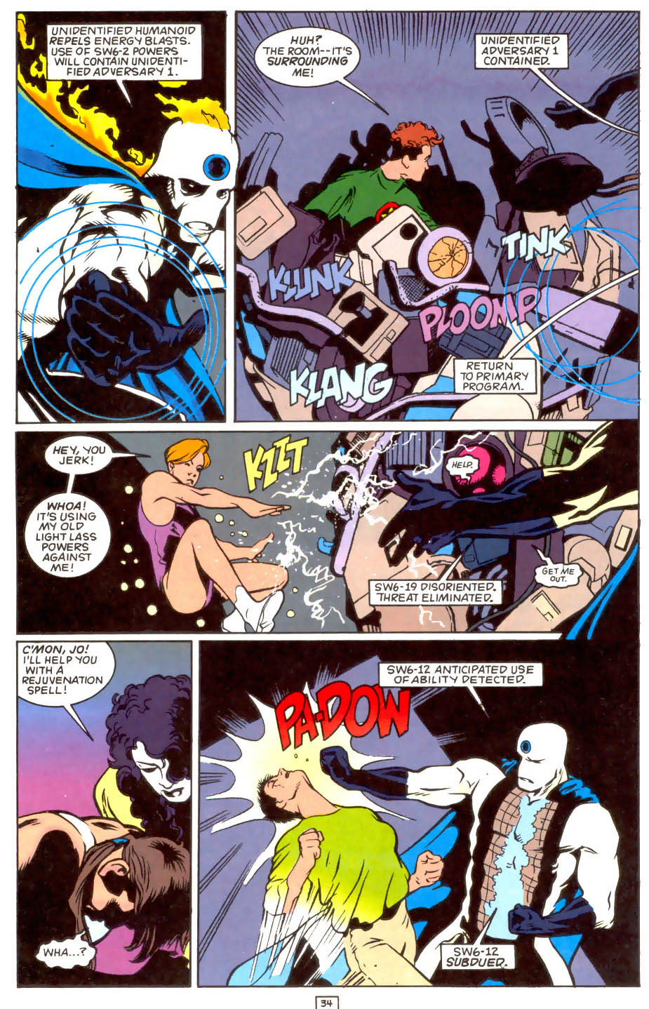 Legion of Super-Heroes (1989) 50 Page 34