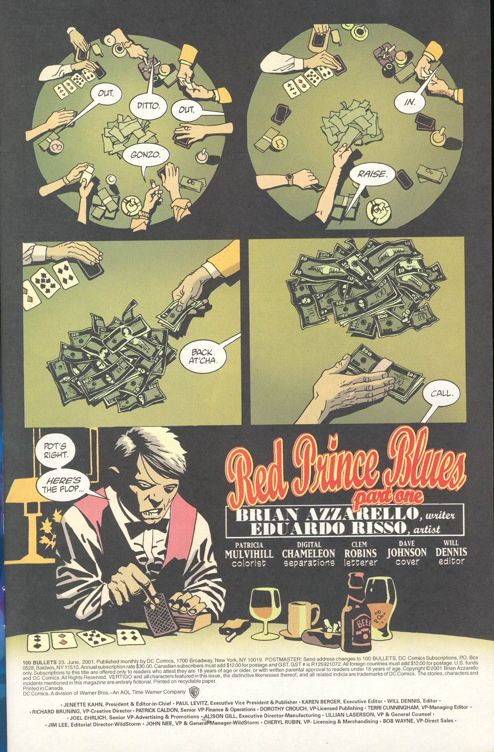 Read online 100 Bullets comic -  Issue #23 - 3